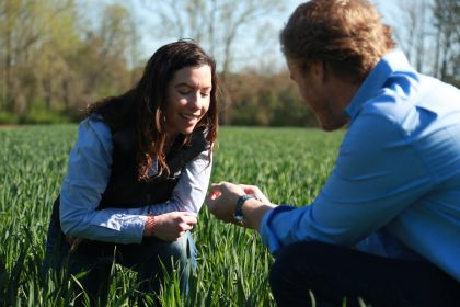 Plant Health experts Kelly Liberator and Josh Miller